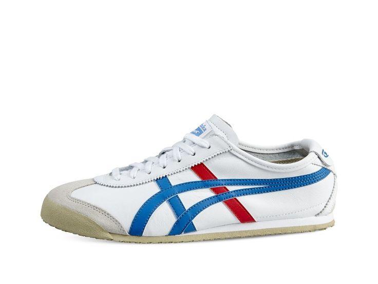 <p>La MEXICO 66 s'inspire de différentes chaussures de running classiques, notamment la LIMBER, conçue en 1966 pour les sélections olympiques. La LIMBER était la première chaussure à arborer les rayures Tiger. Elle a ensuite été portée par l'équipe japonaise aux Jeux olympiques de 1968.<p> Ce look, directement inspiré des années 60 mais remis au goût du jour, donne à la MEXICO 66 sa forme classique, fuselée et emblématique. Idéale pour vivre, travailler et jouer en ville, elle est élaborée…