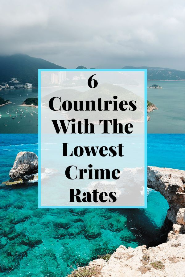 6 Countries With The Lowest Crime Rates | Ireland | Crime