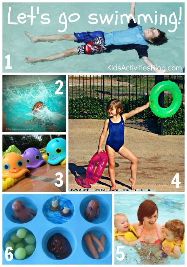 Let's Go Swimming - Activities for kids