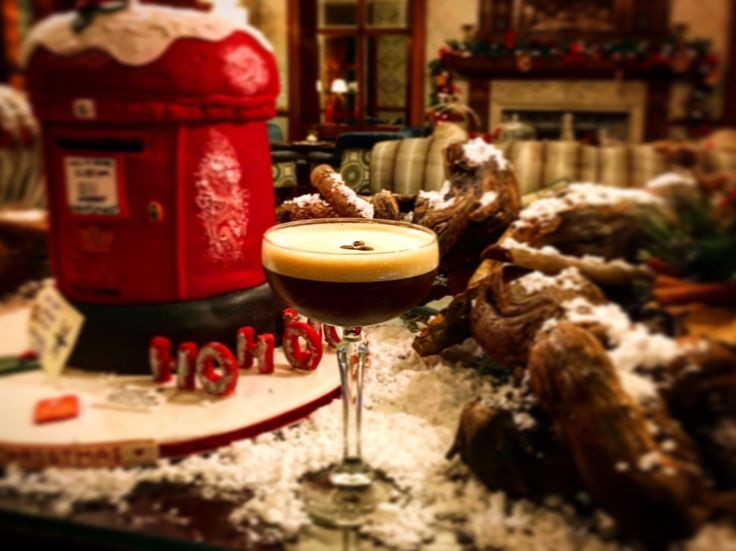 Salted Caramel Expresso Martini:  Ingredients: 50ml Vanilla Vodka 50ml Salted Caramel infused coffee liqueur One shot of Espresso   Method: Shake the mixture and pour and garnish with shavings of chocolate. Enjoy!  Recipe and image courtesy of South Lodge in Sussex