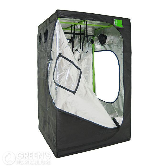 The Green Qube GQ150 grow tent is a prime example of a premium quality tent. Measuring 150cm x 150cm x 220cm this tent is perfect for those looking for a mid-sized grow room set-up. Not only is it simple to assemble, it also comes with some of the thickest tent poles available on the market. The sturdy and durable structure includes extremely handy uplift bars exclusive to Green Qube, which are perfect for clean and tidy installation of gravity-fed hydroponics systems such as AutoPots or…