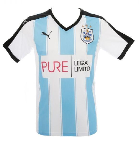 New Huddersfield Town Home Kit 15/16- Pure Legal Puma HTAFC Home Shirt 2015/16