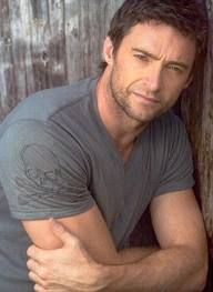Hugh Jackman  Hey, girl. Have you read your scriptures lately?