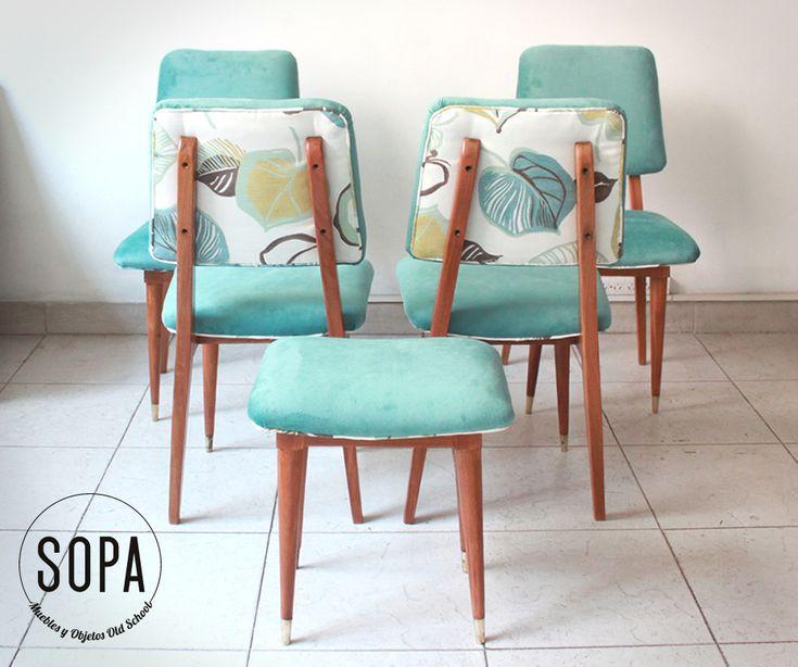 M s de 25 ideas nicas sobre sillas restauradas en - Sillas antiguas restauradas ...