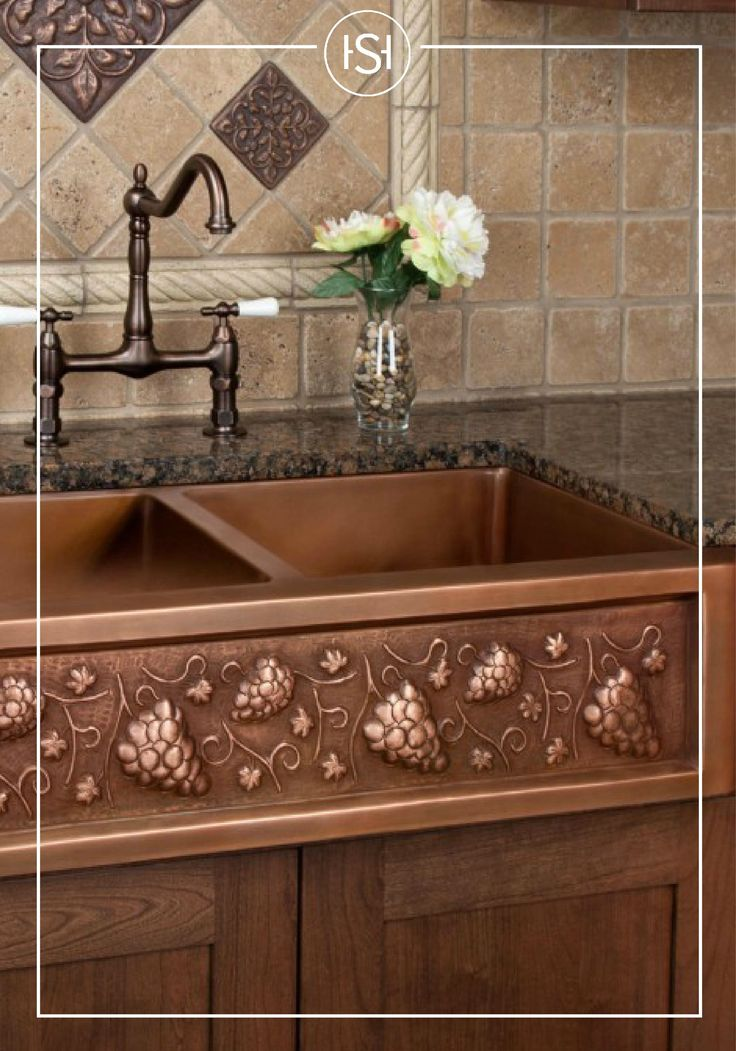 36 Tuscan Series Copper Farmhouse Sink