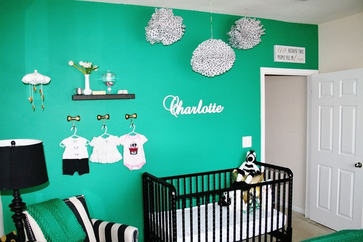 17 Best Images About Green Nursery On Pinterest Crib