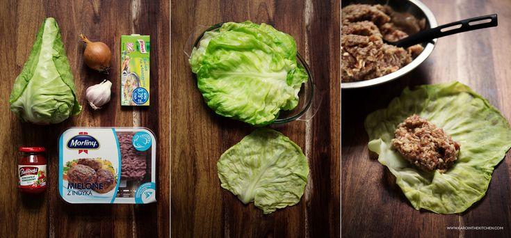 Lekkie gołąbki z młodej kapusty, z mielonym indykiem i brązowym ryżem | Karo in the Kitchen