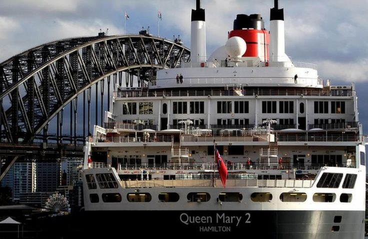 #QueenMary2 | Sydney