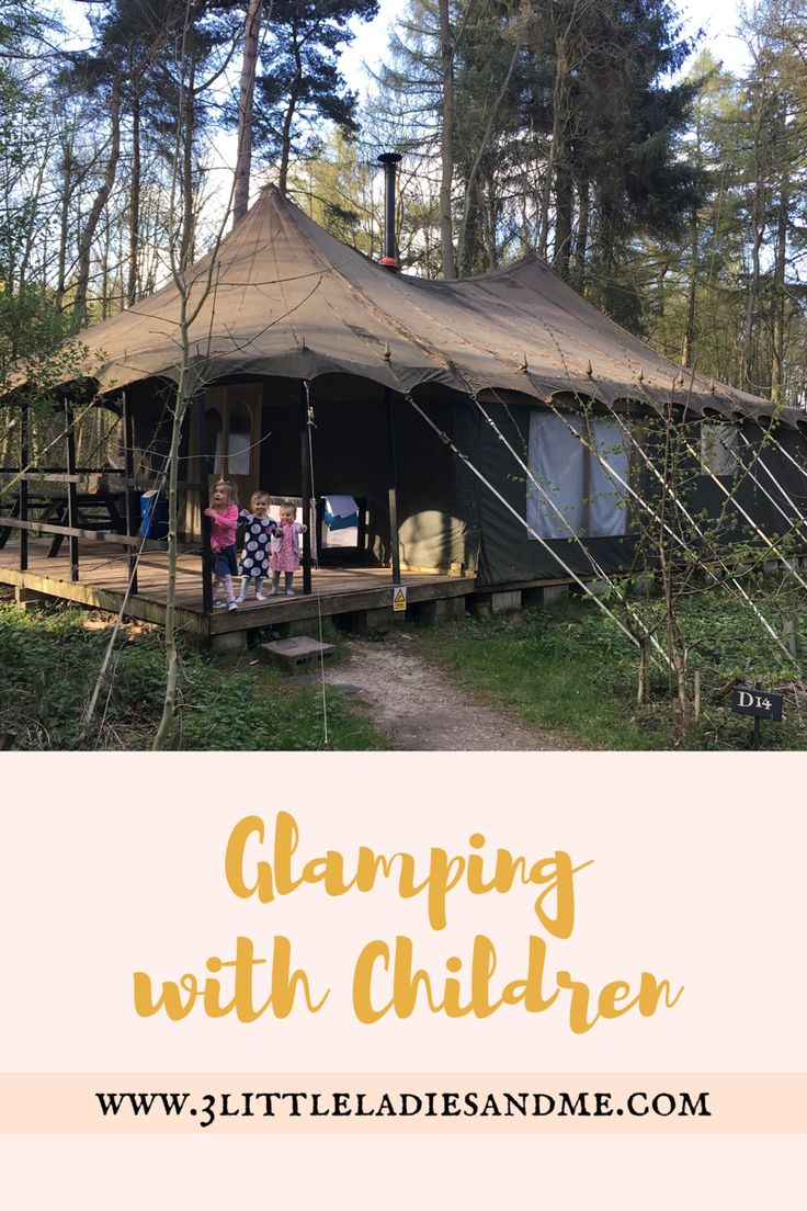 Not quite ready to brace actual camping with children? Have you ever considered glamping? All the home comforts you need but with the feeling of getting away from it all in the great outdoors. With 3 children under 5 it was absolutely perfect for us. Read our top tips and a full review of the Jollydays glamping site in Yorkshire by clicking on the link below:  http://www.3littleladiesandme.com/2017/04/family-glamping-with-jollydays.html