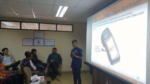 Kegiatan sosialisasi e-POS di UPPD Taman Sari Jakarta Barat hari kedua