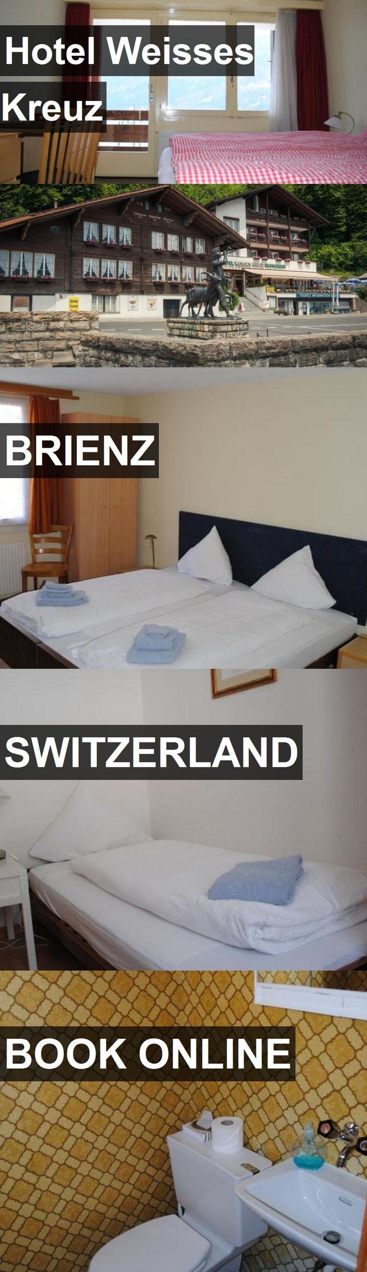 Hotel Hotel Weisses Kreuz in Brienz, Switzerland. For more information, photos, reviews and best prices please follow the link. #Switzerland #Brienz #HotelWeissesKreuz #hotel #travel #vacation