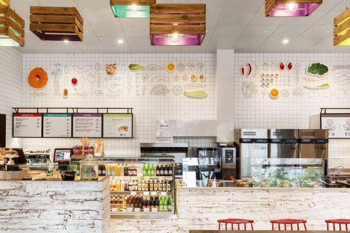 "Sook fast food restaurant by Koncept Stockholm, Stockholm – Sweden "" SOOK is a fast food restaurant in Täby Centrum outside Stockholm with high standards of quality. It prepares food from the Middle..."
