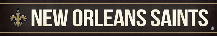 New Orleans Saints Street Banner $19.99