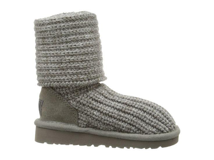 UGG Kids Cardy (Toddler/Little Kid/Big Kid) Girls Shoes Grey
