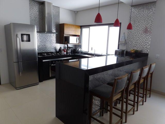 Bancada Cozinha Em Granito Preto Sao Gabriel Cozinha Granito
