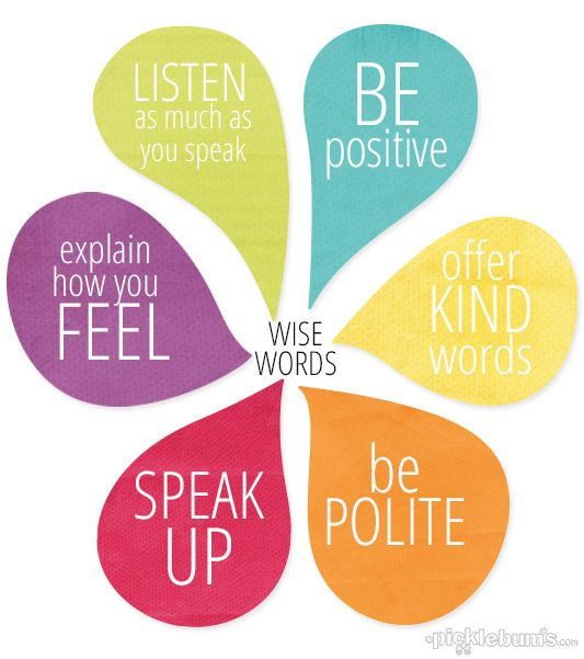 Thoughtful reminder to choose our words wisely and use them in the most positive way. I love all the printables from Picklebums.com