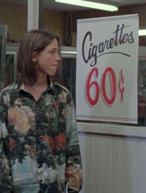 "Dazed and Confused...I just saw this sign in the movie and thought ""Holy crap... .60 for smokes!"""