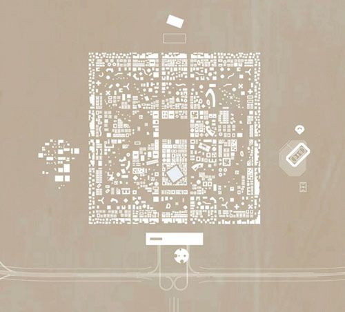 Rak Gateway plan, OMA via archidose