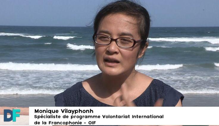 """Destination Francophonie #101 DAKAR, Bonus 1 avec Monique Vilayphonh, Spécialiste du Programme VIF à l'OIF """"Volontariat international francophone""""."""