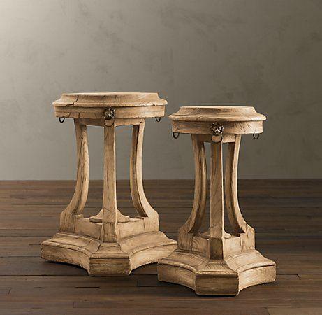 Restoration Hardware Table | Restoration Hardware's 18th C. Lion's Head Side Tables = $895 - $995