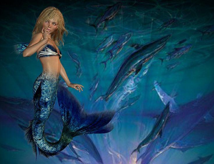 Pin Deep Sea Mermaid On Tumblr on Pinterest