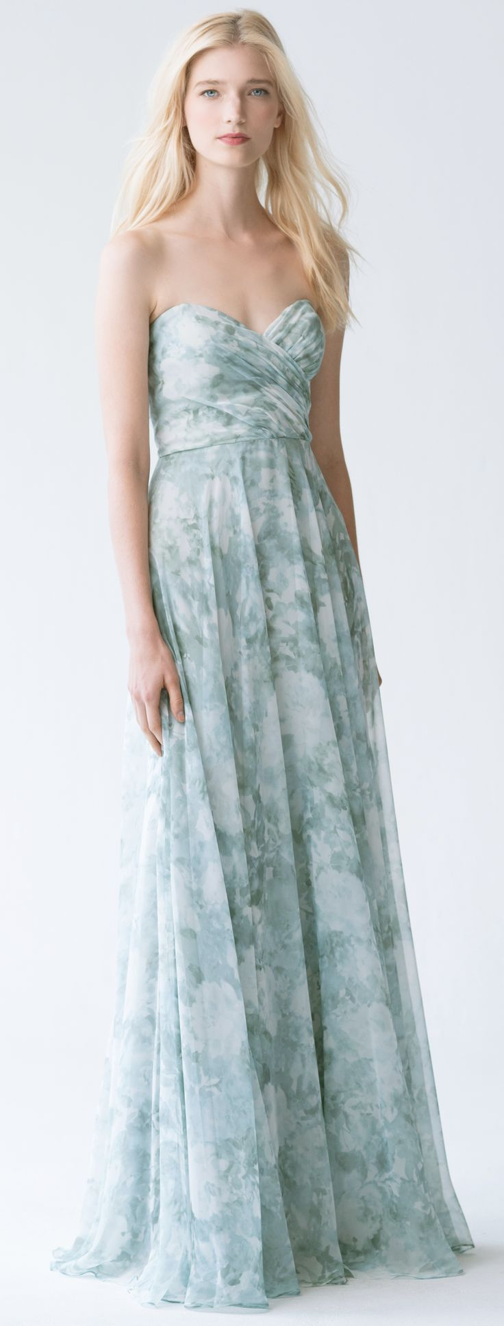 47 best 2017 bridesmaid collection images on pinterest adeline dress in mist multi watercolor garden by jenny yoo ombrellifo Choice Image