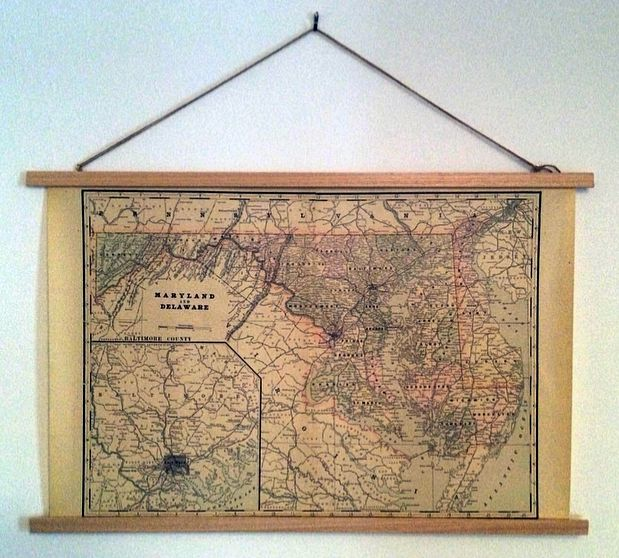 longdistancediy how to make a poster hanging frame diy