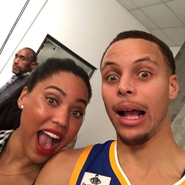 Cute Pictures of Stephen Curry and His Wife, Ayesha | POPSUGAR Celebrity Photo 10