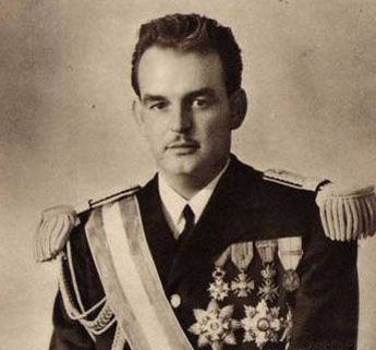 19 November 1949 Prince Ranier III is crowned 30th Monarch of Monaco
