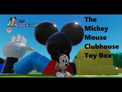 Mickey Mouse Clubhouse Toy Box - YouTube