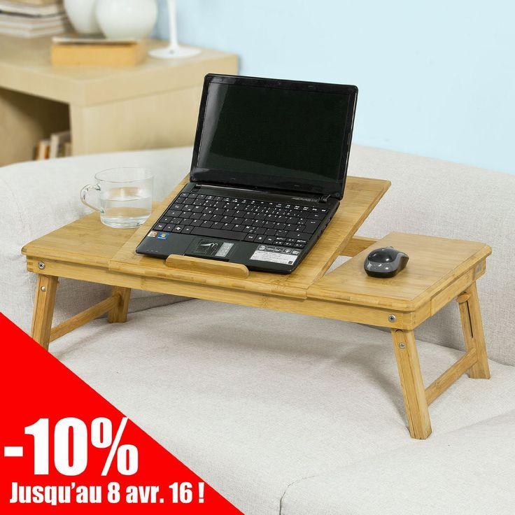 1000 id es sur le th me plateau lit sur pinterest table for Table pour ordinateur fixe