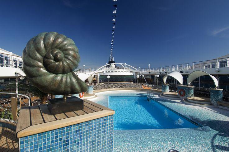Always #AMAZING pools - #Acapulco Pool #MSCOrchestra