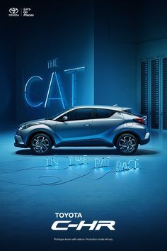 The first-ever Toyota C-HR. With impressive features like its standard 7-in. touch-screen display, it's a crossover crafted to pioneer. Explore more