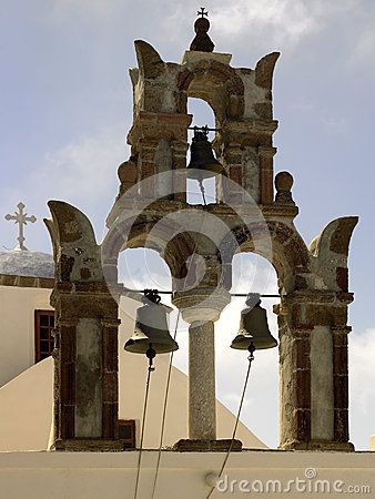 Kerkklokken - Eiland Santorini - Griekenland
