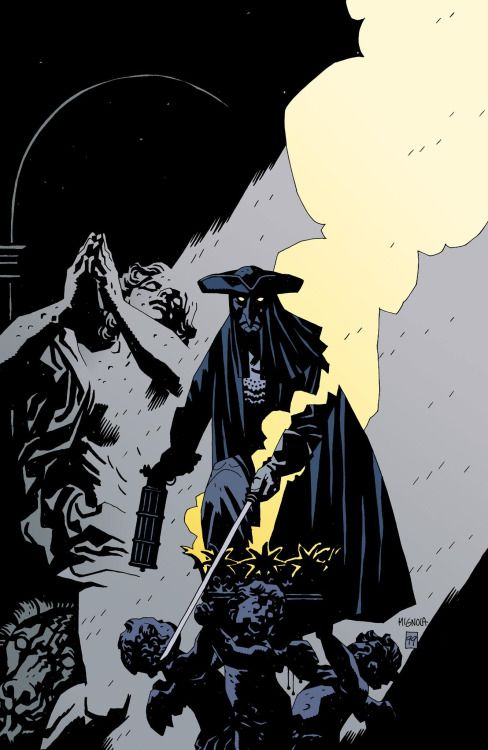 "omercifulheaves: "" The Marquis: Danse Macabre Art by Mike Mignola """