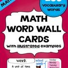Common Core Standards MATH Vocabulary Word Wall Cards - This resource is intended to be used with students in Primary Grades K-2.  How can students...