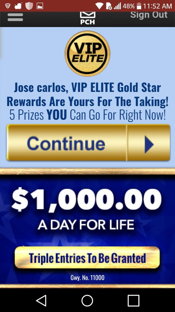 Pch I Jcg Claim Publishers Publisher Clearing House Sweepstakes