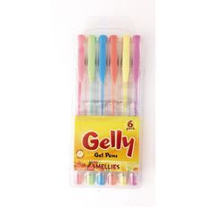 Gelly Smellies Gel Pens 6 Pack