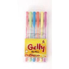Gelly Smellies Gel Pens 6 Pack