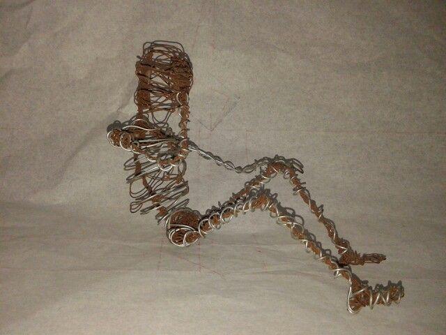 Anatomi models dari kawat o.o