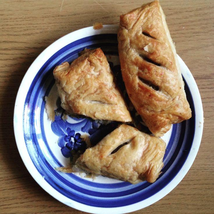 Veggie pastries. New recipe from Vegemealia https://vegemealia.wordpress.com/2016/08/29/veggie-sausage-rolls/