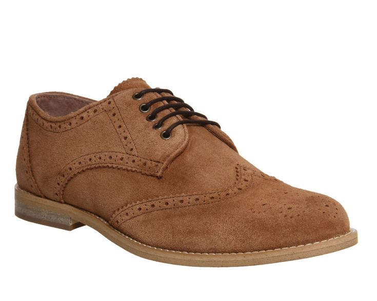 Mens Ask the Missus Tan Suede Lace Up Casual Shoes UK Size 12 * Ex Display  | eBay
