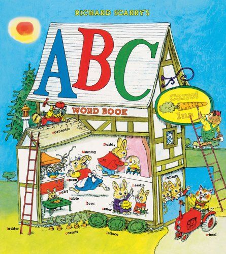 We like checking this book out too-Richard Scarry's ABC Word Book by Richard Scarry,http://www.amazon.com/dp/1402772211/ref=cm_sw_r_pi_dp_ExPbtb1RNSE68W6R