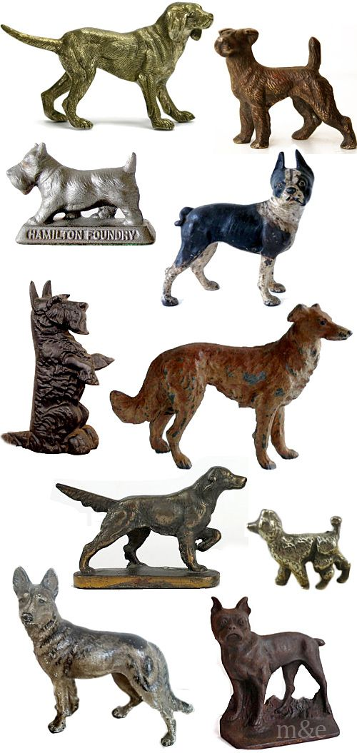 Vintage Dogs, i have about 20 wood, hand carved different breeds of dogs from the early 30's, anyone interested ? 2/2014
