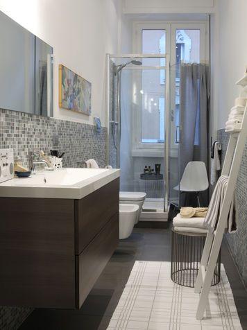 Accessori bagno: scala portasciugamani fai da te