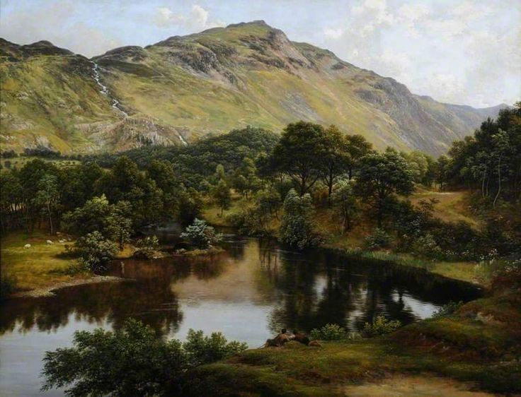 """View of Patterdale, Westmorland"", 1817 - 1819 By John Glover (British, 1767-1849) oil on canvas; 63.5 x 90 cm"