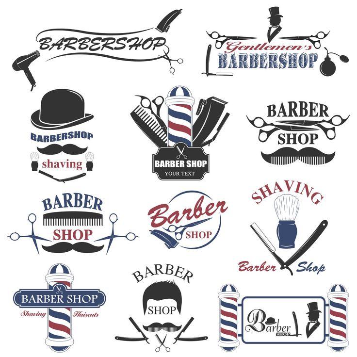 Banner Barbershop Cdr - contoh desain spanduk