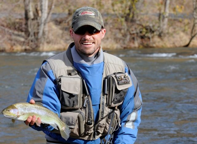 Jackson county features some of the best trout waters for Best trout fishing in nc