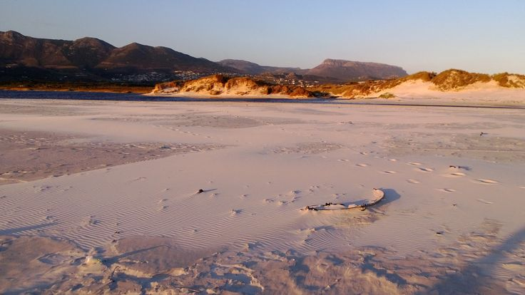 Dunes at Noordhoek beach
