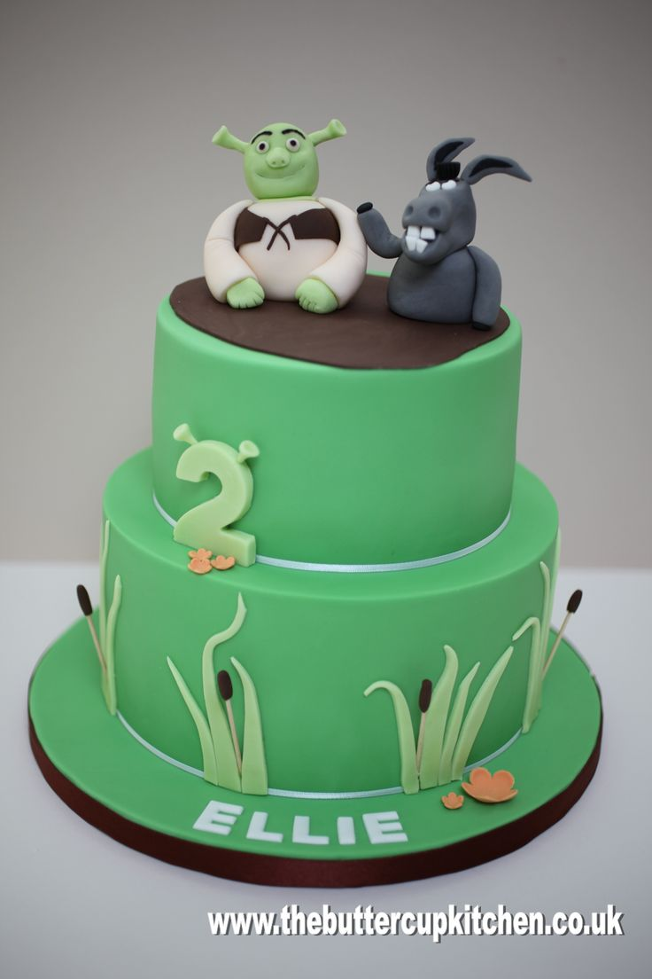 39 Best Images About Shrek Cakes On Pinterest Decorating